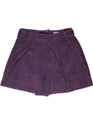 Jupe fille CYRILLUS violet 4 ans hiver #1046336_1