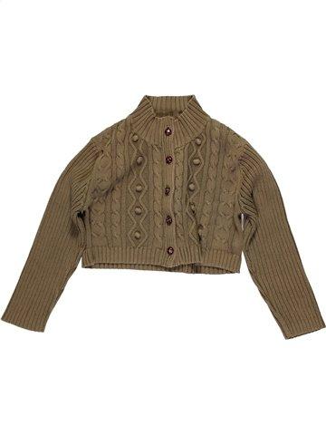 Chaleco niña CAPTAIN TORTUE marrón 8 años invierno #1051526_1