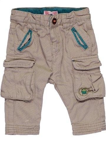 Pantalon garçon DPAM gris 3 mois hiver #1057478_1