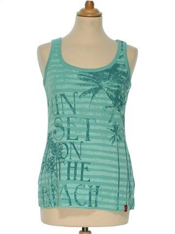 Camiseta sin mangas mujer EDC L verano #1085287_1