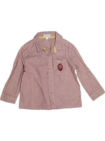 Camisa de manga larga niño NATALYS rosa 3 años invierno #1085468_1