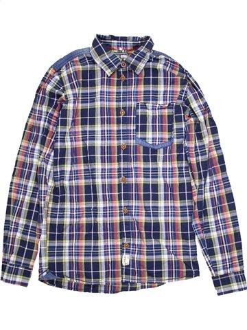 Chemise manches longues garçon NAME IT bleu 14 ans hiver #1091928_1
