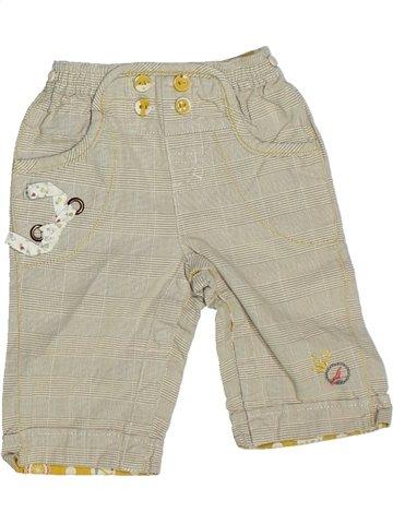 Pantalon fille SERGENT MAJOR beige 6 mois été #1100752_1