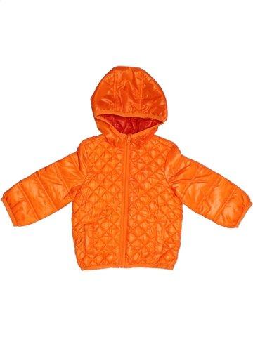 Manteau garçon ORCHESTRA orange 9 mois hiver #1103517_1