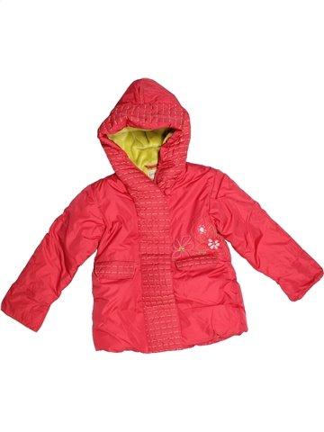 Manteau fille CONFETTI rouge 3 ans hiver #1104285_1