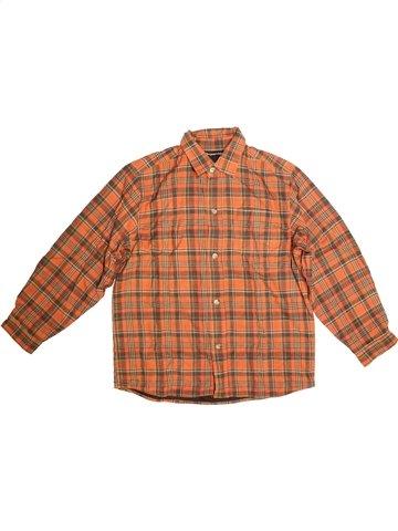 Camisa de manga larga niño TOUT COMPTE FAIT naranja 12 años invierno #1105449_1
