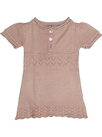 Robe fille 3 SUISSES rose 2 ans hiver #1113419_1