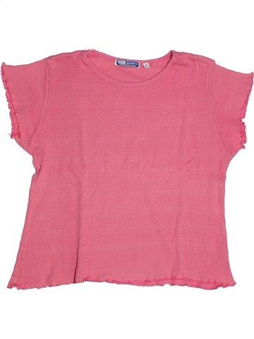 T-shirt manches courtes fille KID'S GRAFFITI rose 12 ans été #1116244_1