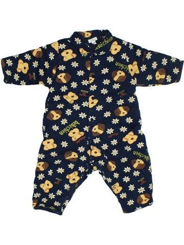 Pyjama 1 pièce garçon CATIMINI beige 6 mois hiver #1128613_1