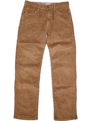Pantalon fille 3 SUISSES marron 12 ans hiver #1150643_1