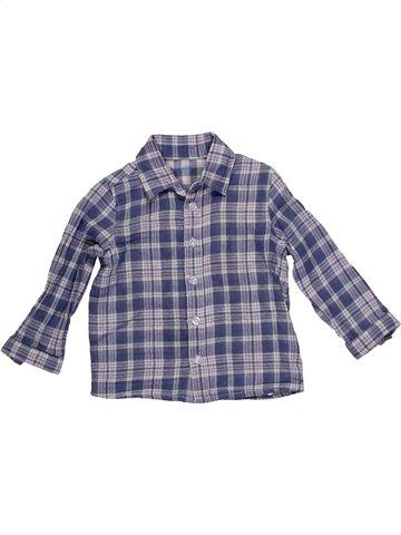 Camisa de manga larga niño SUCRE D'ORGE gris 2 años invierno #1156037_1