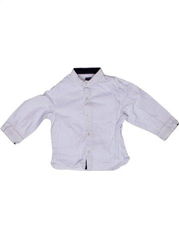Chemise manches longues garçon KIABI blanc 18 mois hiver #1159388_1