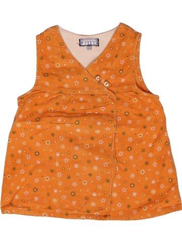 Robe fille TOUT COMPTE FAIT orange 2 ans hiver #1160379_1