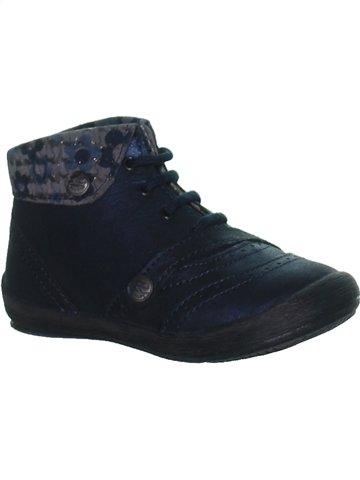 Zapatos con cordones niña MOD8 azul oscuro 23 verano #1163415_1