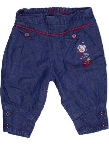 Pantalon fille SERGENT MAJOR bleu 6 mois hiver #1164300_1