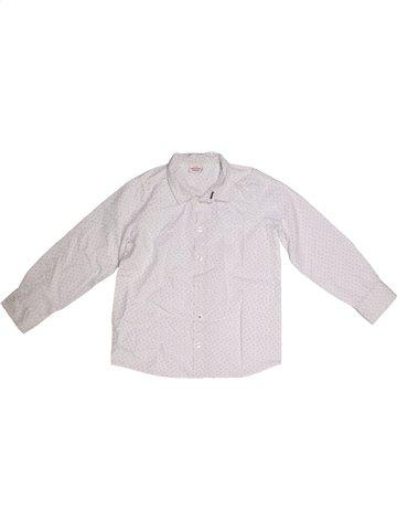 Chemise manches longues garçon TAPE À L'OEIL blanc 6 ans hiver #1166621_1
