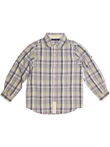 Camisa de manga larga niño TOUT COMPTE FAIT gris 10 años invierno #1166735_1