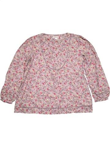 Blusa de manga larga niña VERTBAUDET rosa 10 años invierno #1167674_1