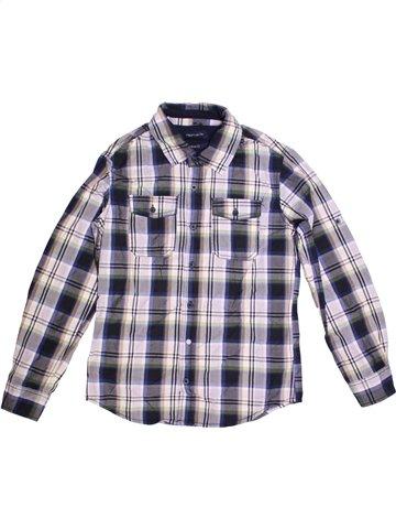 Chemise manches longues garçon TEDDY SMITH gris 12 ans hiver #1170826_1