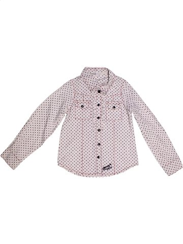 Blouse manches longues fille OOXOO blanc 6 ans hiver #1174084_1