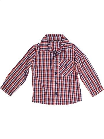 Chemise manches longues garçon LE PHARE DE LA BALEINE violet 4 ans hiver #1176299_1