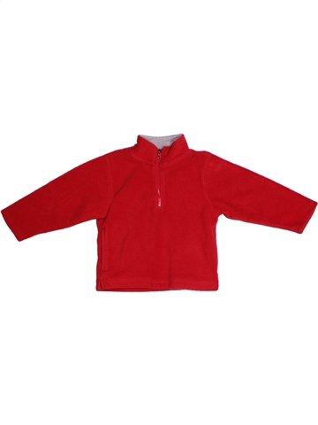jersey niño BOUT'CHOU rojo 2 años invierno #1177302_1