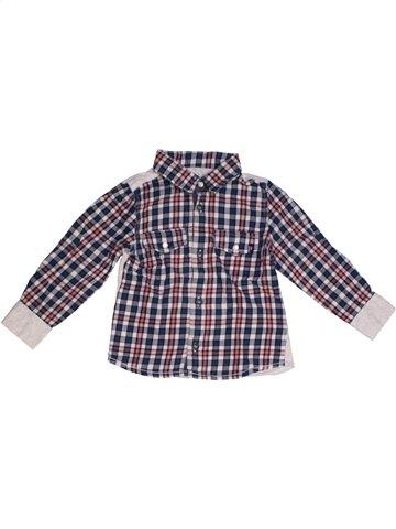 Camisa de manga larga niño JEAN BOURGET violeta 2 años invierno #1177567_1