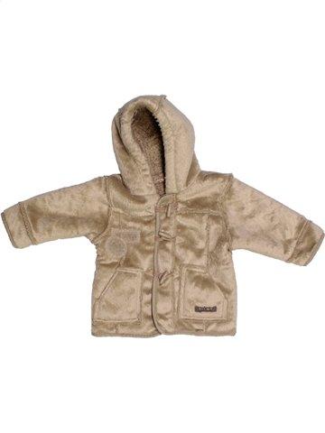Abrigo niño TERRE DE MARINS marrón 6 meses invierno #1177590_1