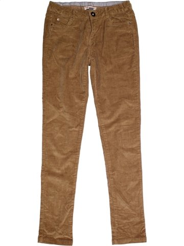 Pantalon fille ZARA marron 12 ans hiver #1177886_1