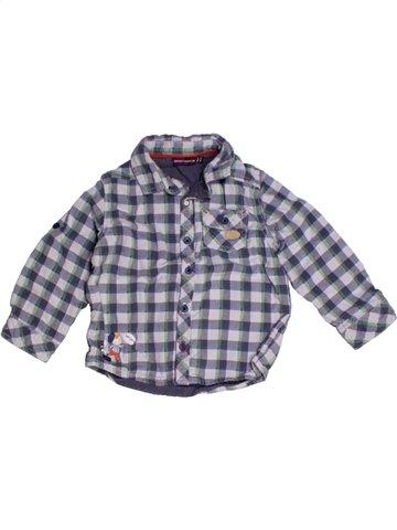 Chemise manches longues garçon SERGENT MAJOR gris 2 ans hiver #1178537_1