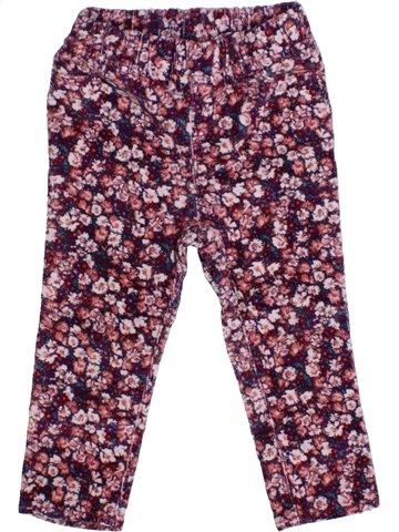 Pantalon fille GAP violet 2 ans hiver #1178647_1
