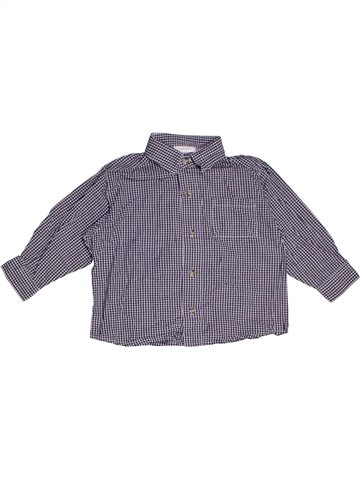 Chemise manches longues garçon KIABI violet 18 mois hiver #1178999_1