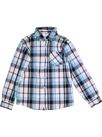 Chemise manches longues garçon KID'S GRAFFITI bleu 12 ans hiver #1180229_1