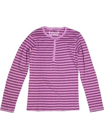 T-shirt manches longues fille VYNIL FRAISE violet 12 ans hiver #1180450_1