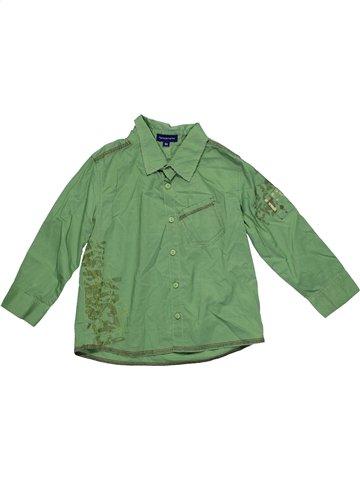Camisa de manga larga niño TERRE DE MARINS verde 3 años invierno #1181086_1
