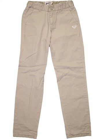Pantalon fille ROXY gris 10 ans hiver #1181269_1