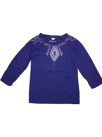 T-shirt manches longues fille ROXY violet 12 ans hiver #1186011_1
