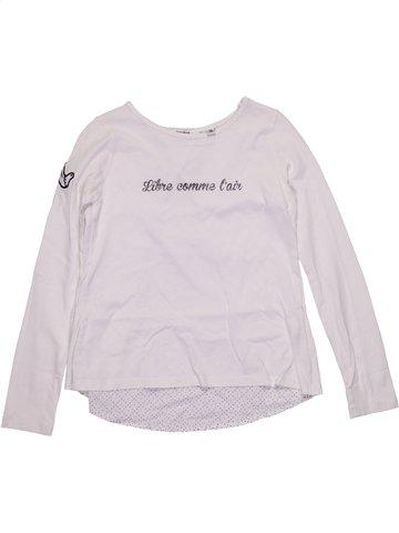 Camiseta de manga larga niña MARÈSE blanco 8 años invierno #1188621_1