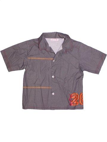 Chemise manches courtes garçon SUCRE D'ORGE violet 4 ans été #1189513_1