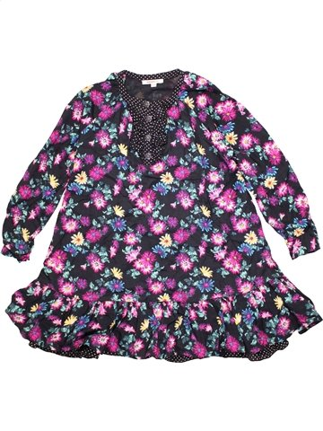 Robe fille KENZO gris 8 ans hiver #1190513_1