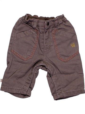 Pantalon garçon OKAIDI gris 3 mois hiver #1191482_1