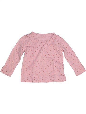Camiseta de manga larga niña MONOPRIX rosa 3 años invierno #1193686_1