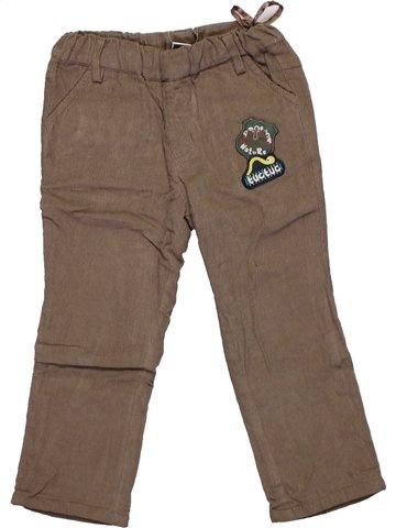 Pantalon garçon TUC TUC marron 2 ans hiver #1194353_1