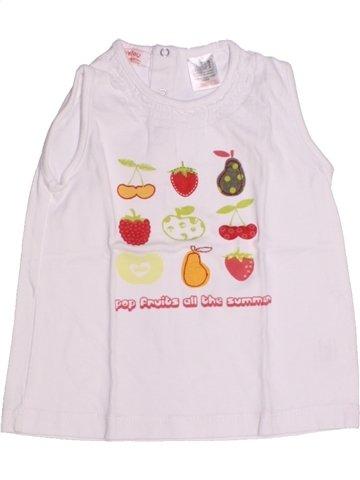 Camiseta sin mangas niña LA REDOUTE CRÉATION rosa 2 años verano #1194375_1