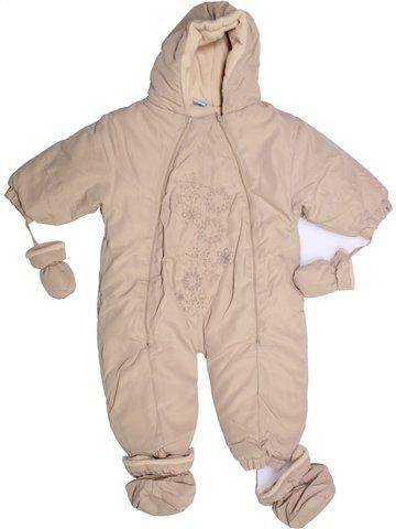 Mono-polar niña SANS MARQUE beige 2 años invierno #1194617_1
