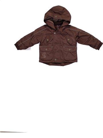 Abrigo niño TOUT UN MONDE marrón 12 meses invierno #1194790_1