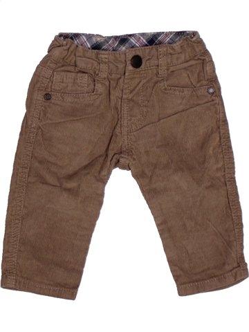 Pantalon garçon ZARA violet 6 mois hiver #1195385_1