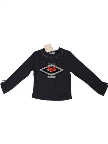 Camiseta de manga larga niña ELIANE ET LENA azul oscuro 2 años invierno #1195727_1