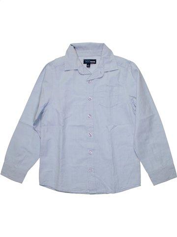 Chemise manches longues garçon YCC-214 bleu 8 ans hiver #1198368_1