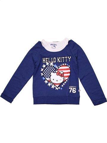Sweat garçon HELLO KITTY bleu 6 ans hiver #1199053_1
